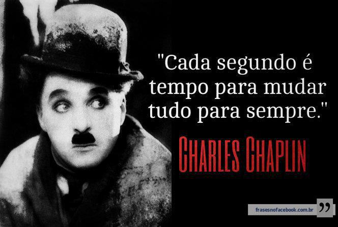 Charles Chaplin - Textos, Reflexões e Pensamentos - Citador