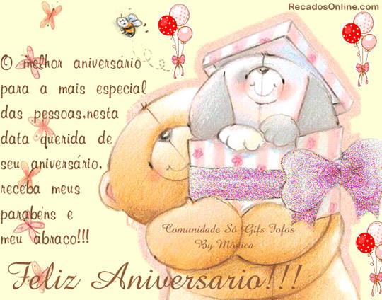 Parabéns A Você Pessoa Querida: O Melhor Aniversário Para A Mais Especial Das Pessoas